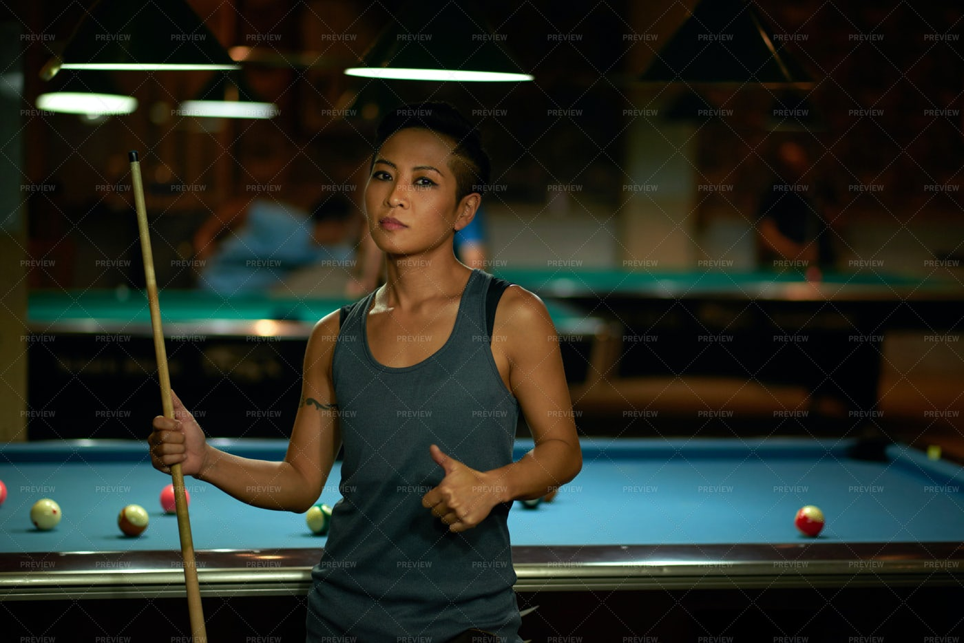 Billiard Player: Stock Photos