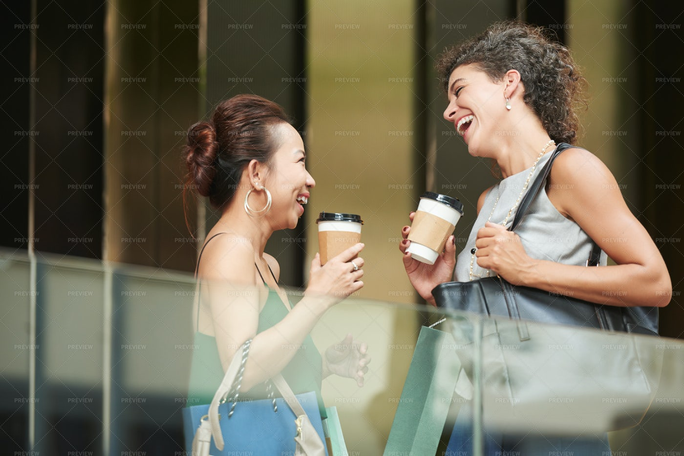 Laughing Friends: Stock Photos