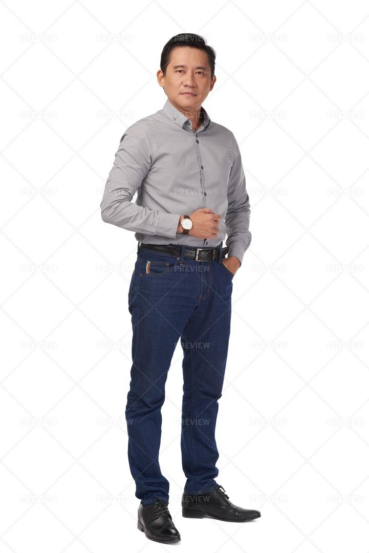Handsome Mature Man: Stock Photos