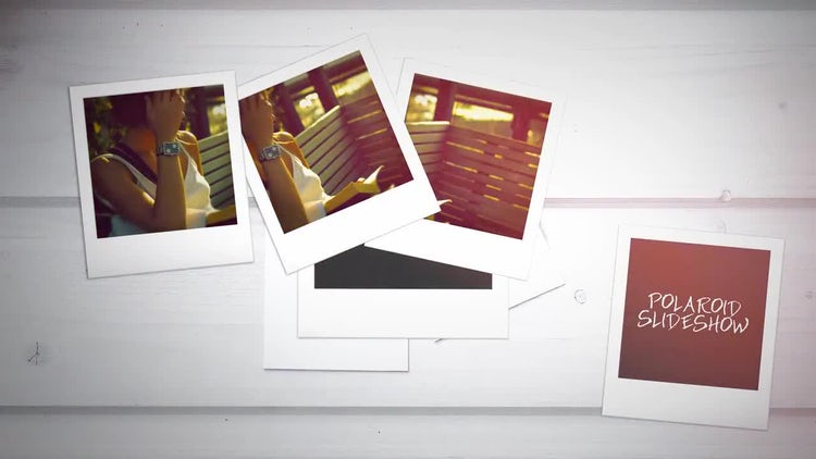 Polaroid Slideshow: After Effects Templates