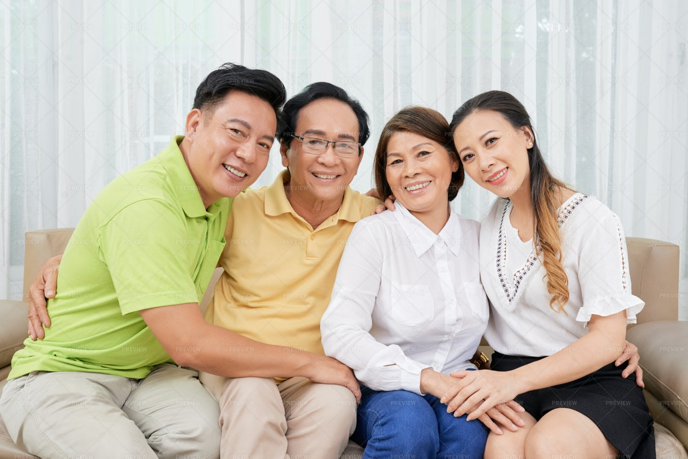 Loving Family: Stock Photos