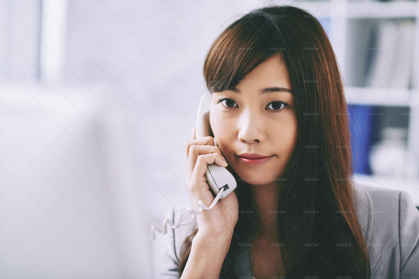 Business Woman On The Phone: Stock Photos