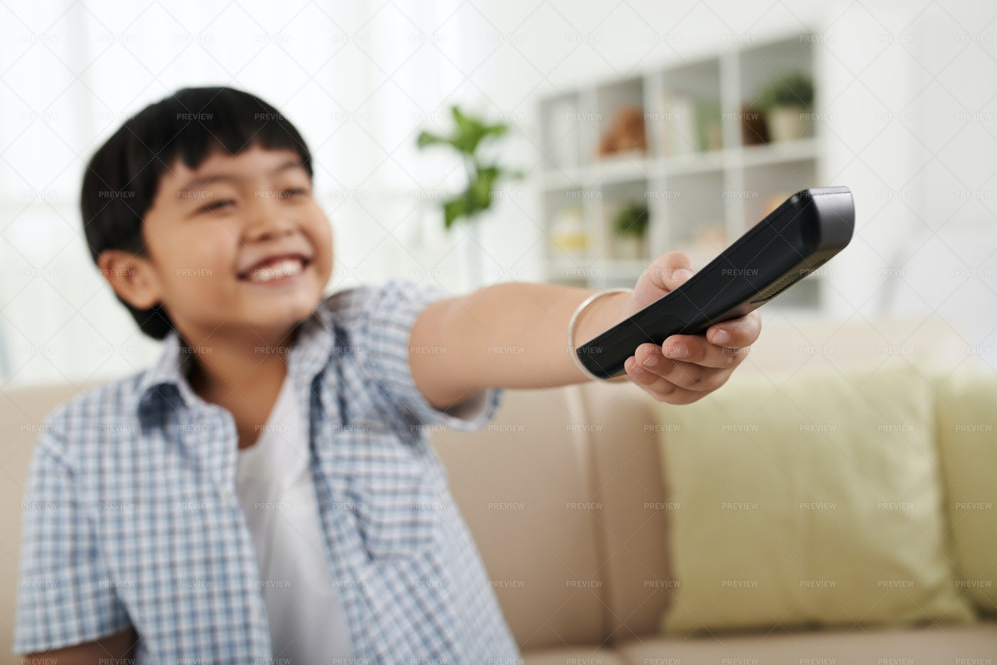 Changing Channel: Stock Photos