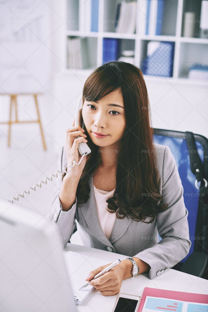 Young Business Lady: Stock Photos