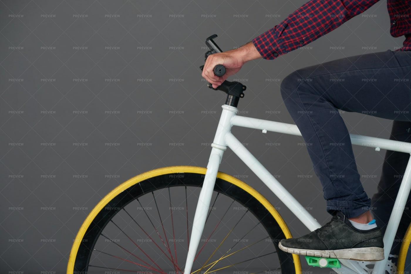 Riding Bicycle: Stock Photos