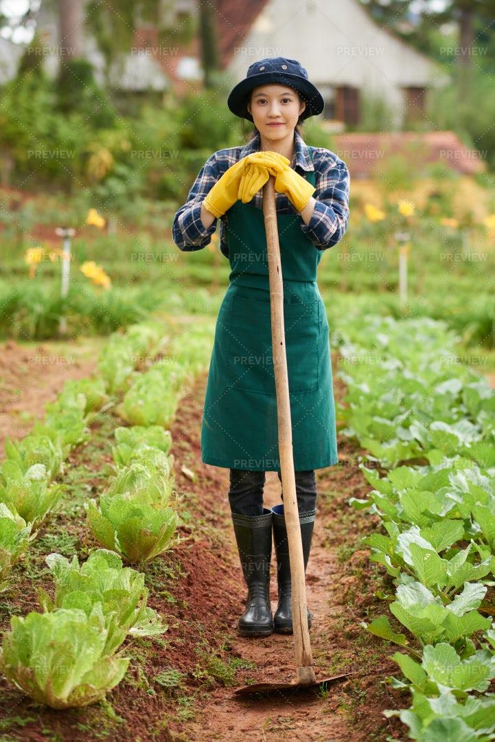 Gardening Girl: Stock Photos