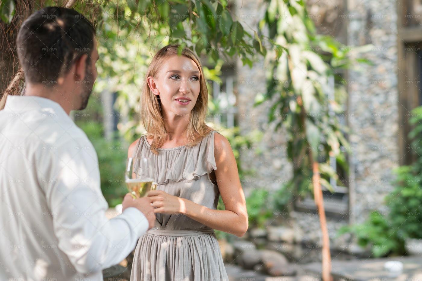 Wedding Party Guest: Stock Photos