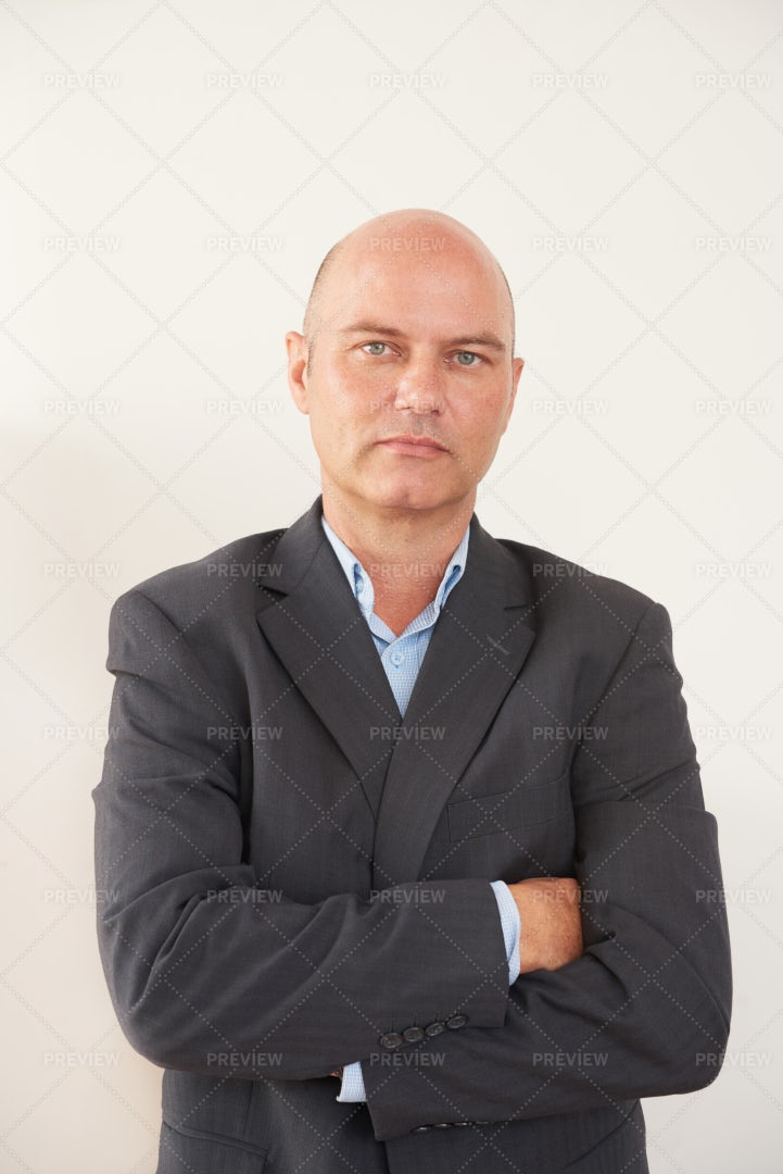 Portrait Of Confident Businessman: Stock Photos