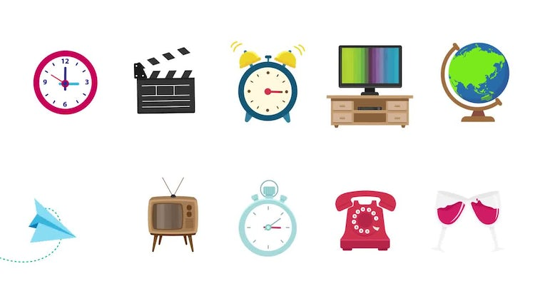 Objects Pack: Motion Graphics
