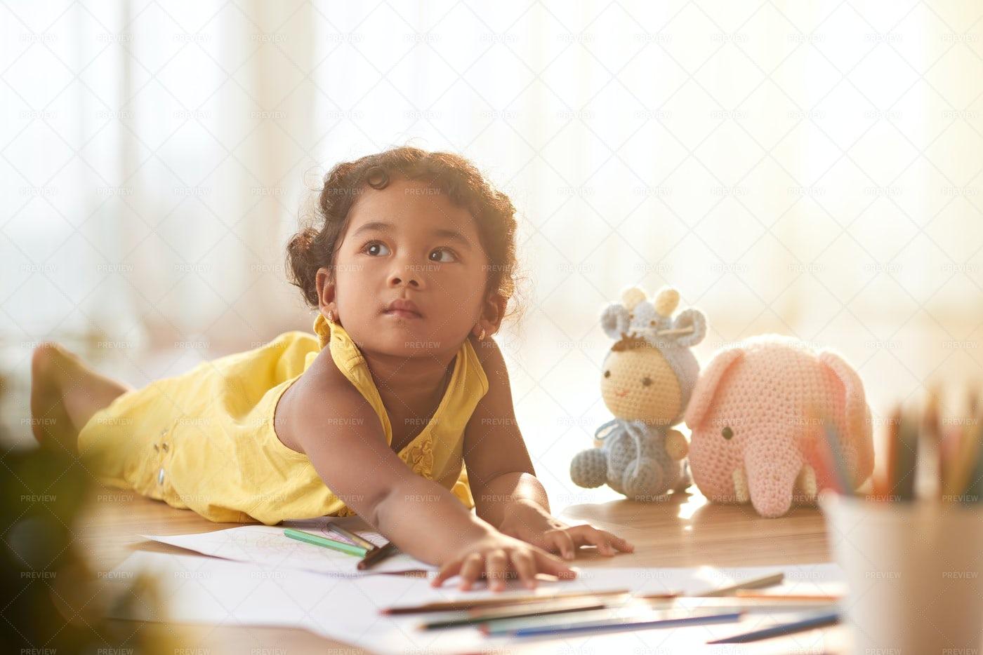 Dreamy Girl: Stock Photos