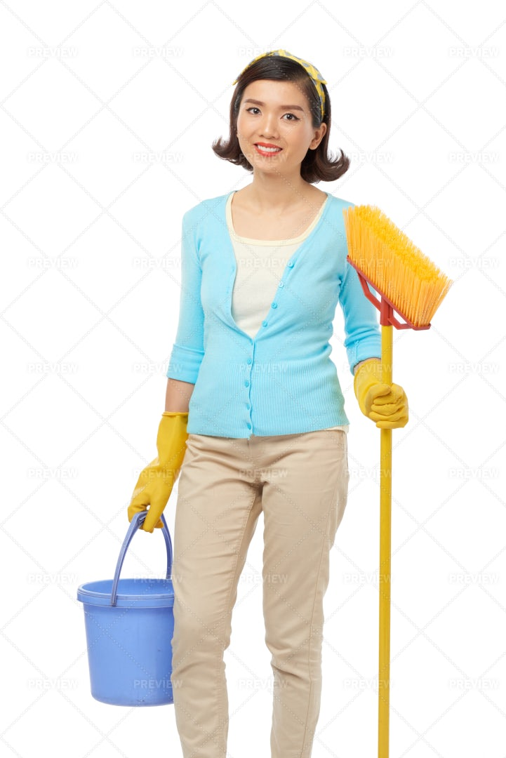Spring Clean At Full Speed: Stock Photos