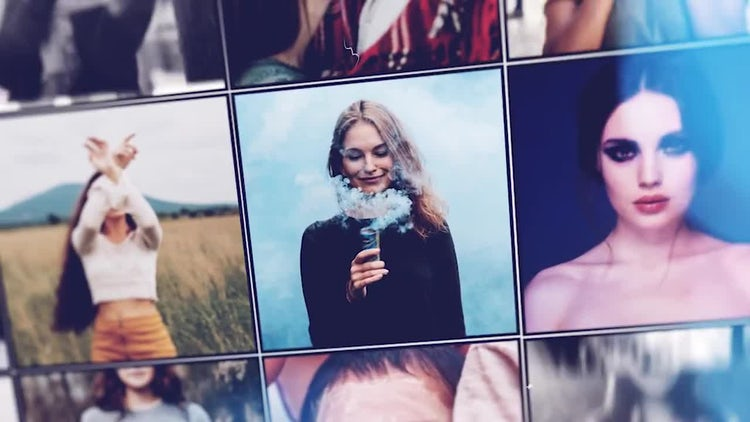 Modern Photo Intro: After Effects Templates
