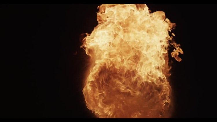 Fireball 02: Stock Video