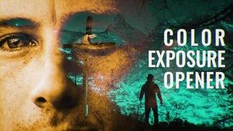 Color Exposure Opener: Premiere Pro Templates