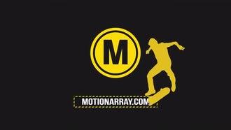 Skater Logo: Premiere Pro Templates