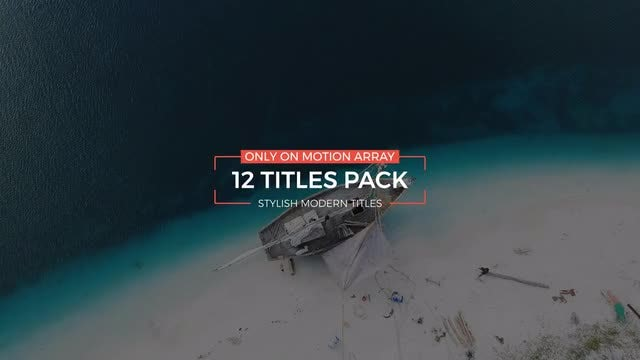 Stylish Modern Titles: Premiere Pro Templates