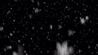 Realistic Snowfall: Motion Graphics
