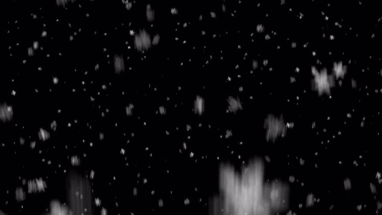 Realistic Snowfall: Stock Motion Graphics