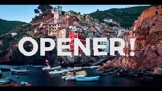 Parallax Opener Stomp Logo: Premiere Pro Templates