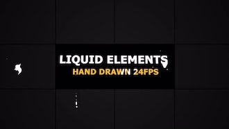 Flash FX LIQUID Elements 24 fps: Motion Graphics