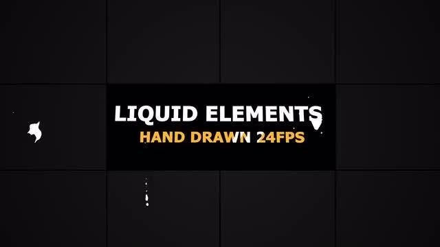 Flash FX LIQUID Elements 24 fps: Stock Motion Graphics