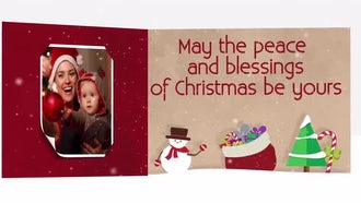 Christmas Carousel: After Effects Templates