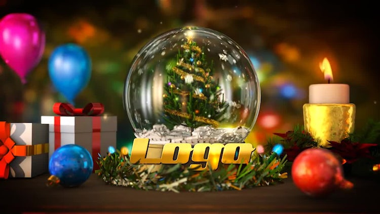 Merry Christmas Opener: After Effects Templates