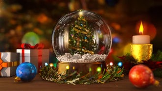 Christmas Snow Globe: Motion Graphics