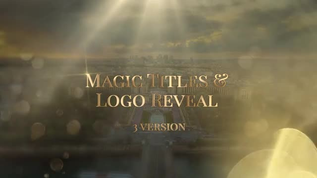 Magic Logo Reveal: Premiere Pro Templates