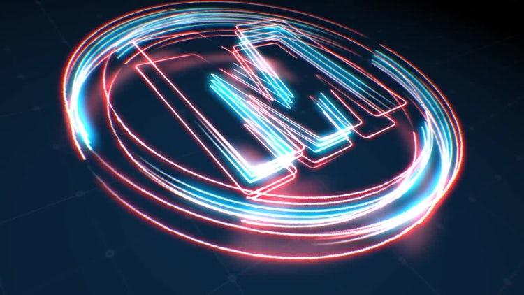 Neon Logo: After Effects Templates