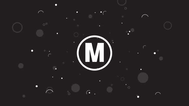 Logo bubbles 3 versions: After Effects Templates