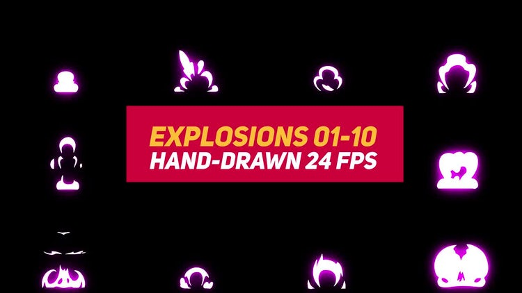 Liquid Elements Explosions 1-10: After Effects Templates