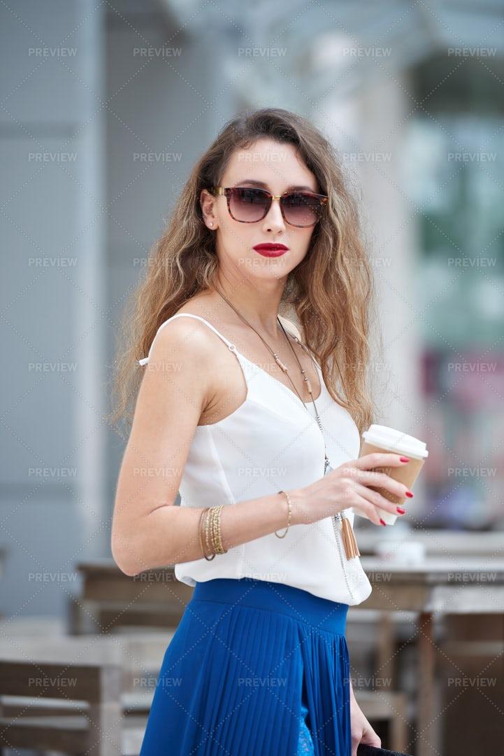 Stylish Lady: Stock Photos