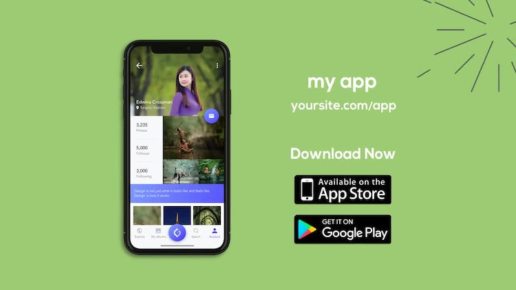 iOS Mobile App Promotion: After Effects Templates