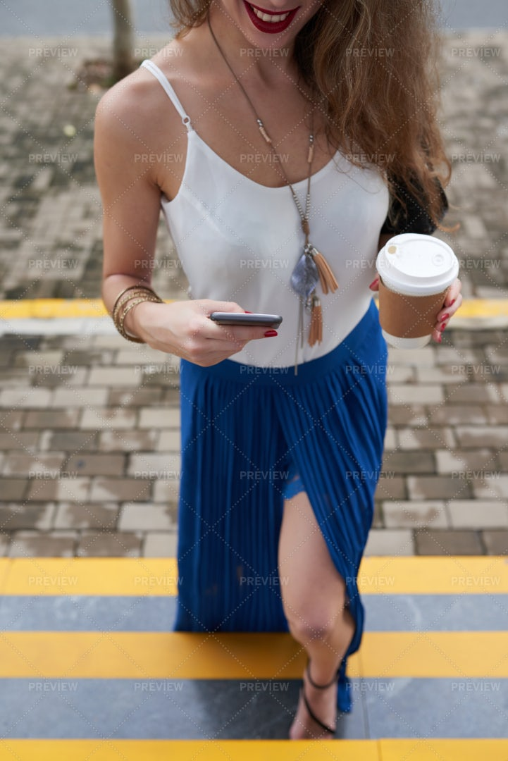 Stylish Girl: Stock Photos