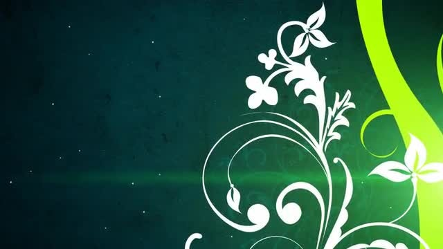 Vector Flowers 3 Loop: Stock Motion Graphics