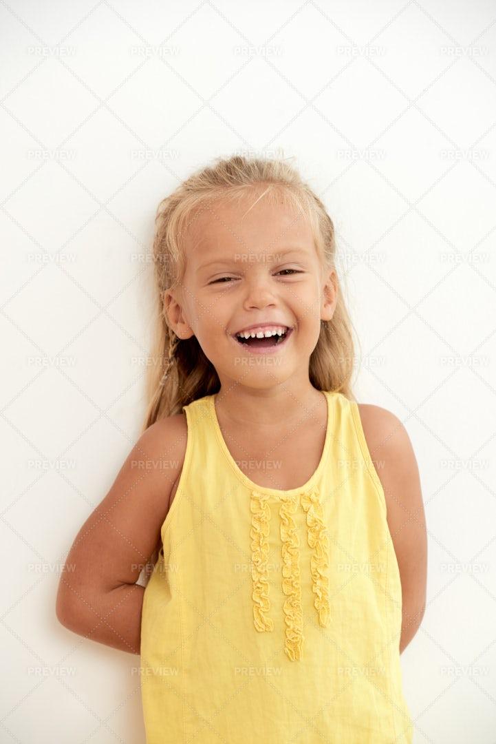 Laughing Girl: Stock Photos