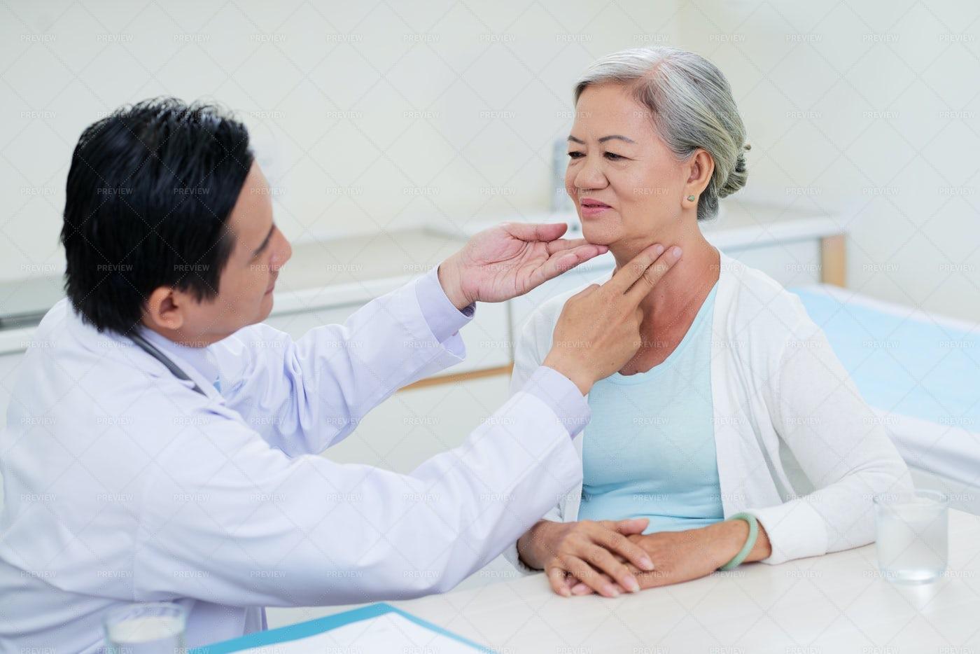 Throat Examination: Stock Photos