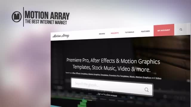 Site Presentation: After Effects Templates