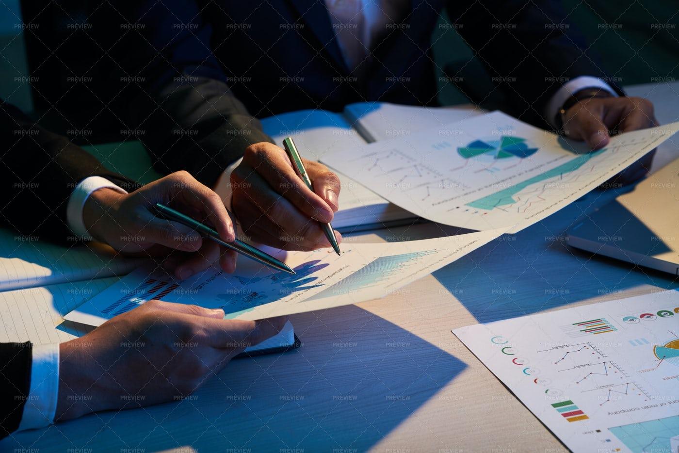 Analyzing Data: Stock Photos