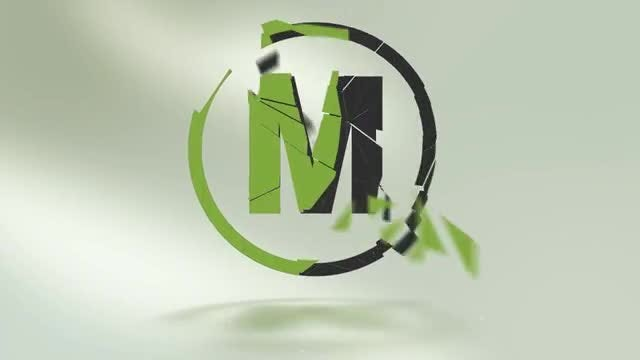Shattered Logo Reveal: After Effects Templates