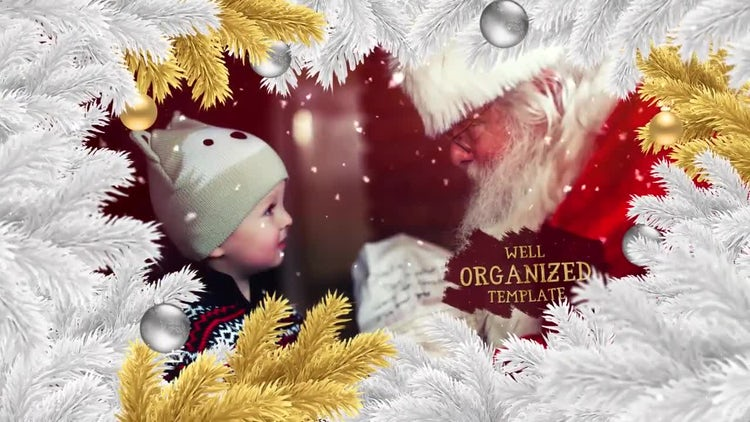 Magic Christmas Slideshow: After Effects Templates