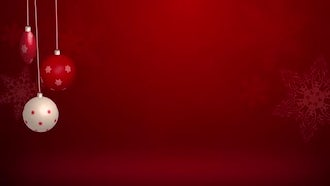 Christmas Background: Motion Graphics