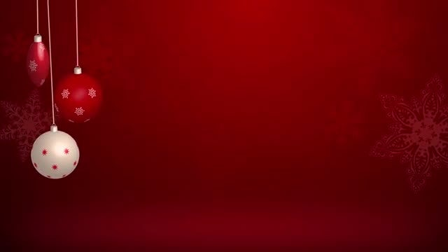 Christmas Background: Stock Motion Graphics