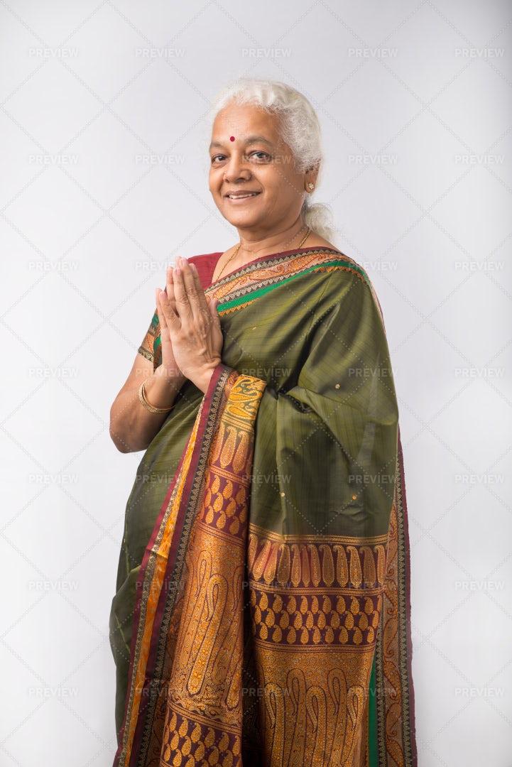 Smiling Indian Woman: Stock Photos