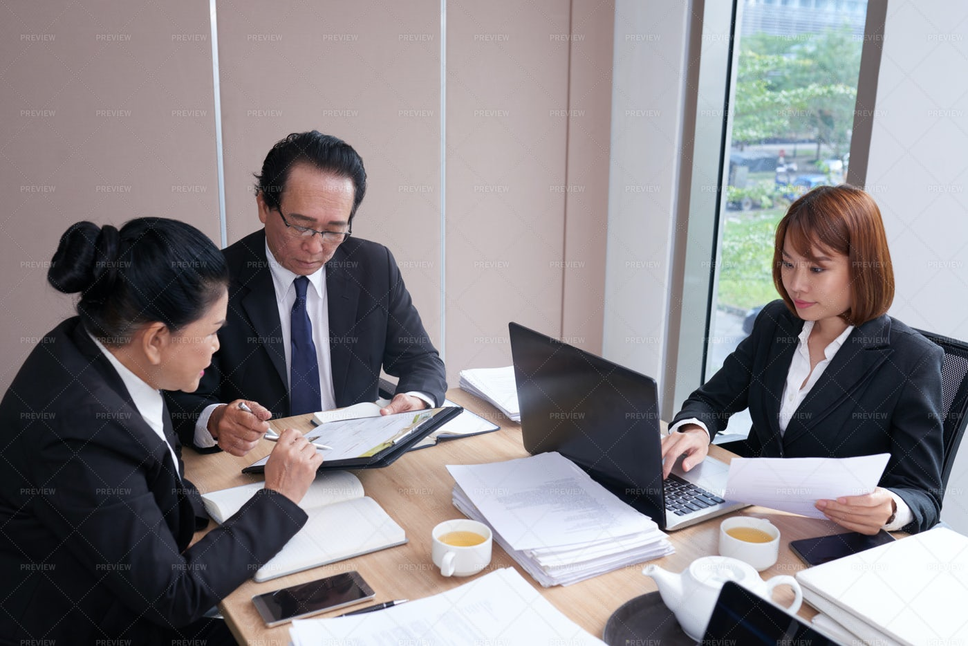 Lawyers At Work: Stock Photos