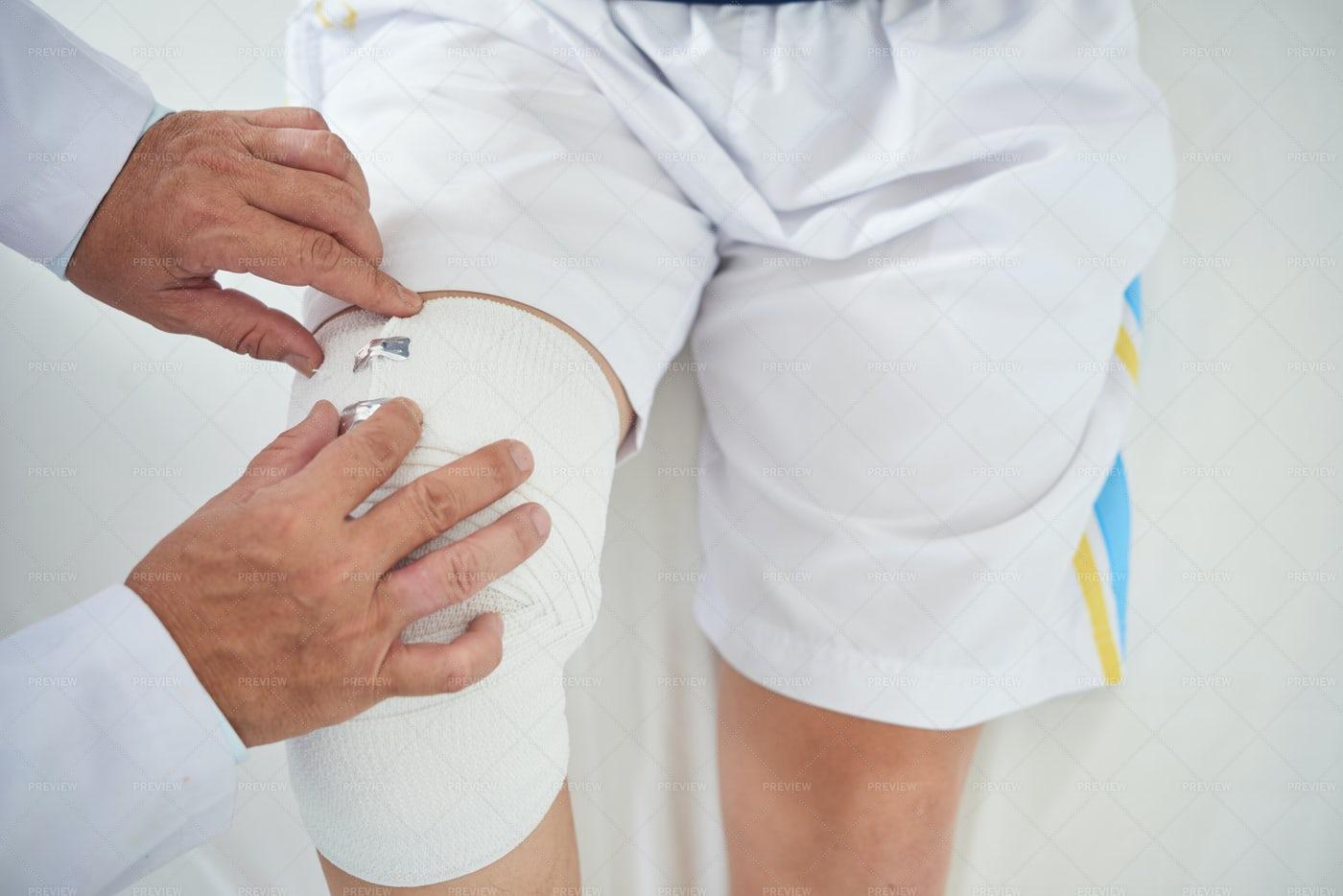 Changing Bandage: Stock Photos