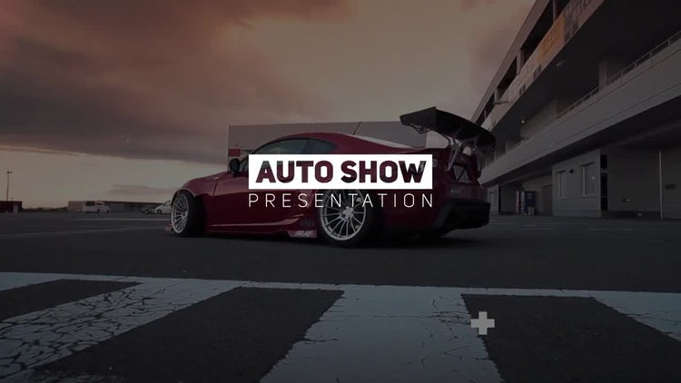 Auto Show Glitch Promo: After Effects Templates