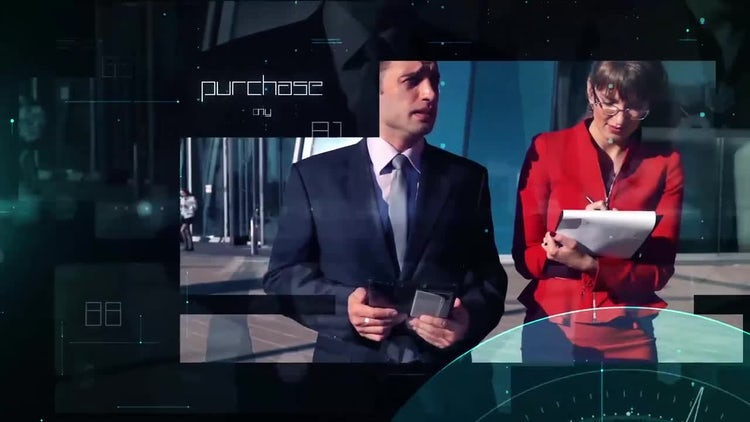 Technology Presentation: After Effects Templates