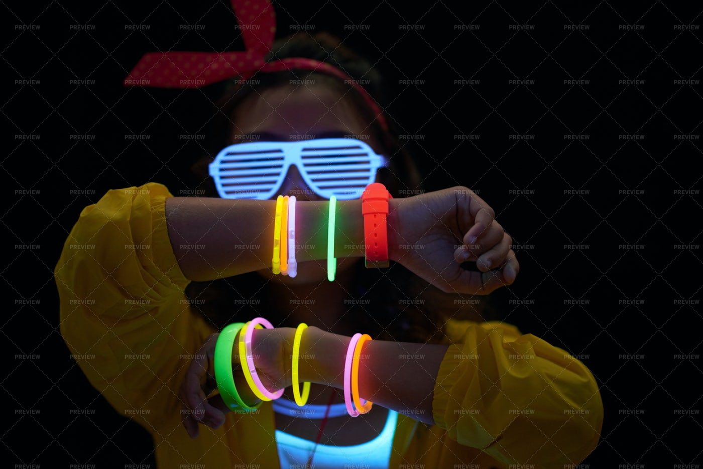 Neon Accessory: Stock Photos
